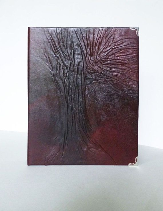 Ring binder A5 Leather Journal or Leather Photo by AnnaKisArt