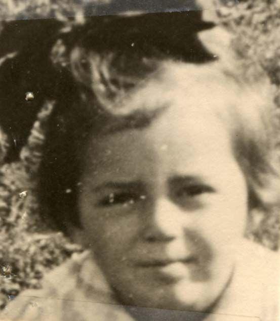 Rozalia Braun. Rozalia was sadly killed in Auschwitz-Birenkau in 1944 at age 4.