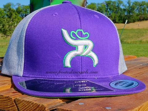 Hooey Purple Roughy Snap back. | Primary View | Frosted Cowgirls