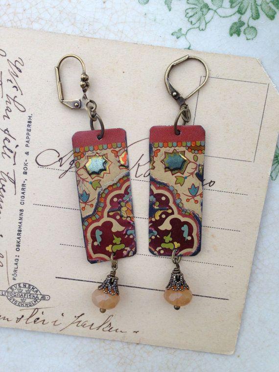Alternative 10th Wedding Anniversary Gifts : ... anniversary ten year anniversary anniversary jewelry ruby earrings
