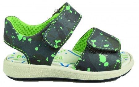 Primigi PAK7567 Black Grey Sandals