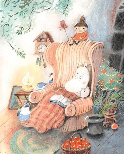 by Tove Jansen My daughter loved this author artist's Moomintroll/Moomin books
