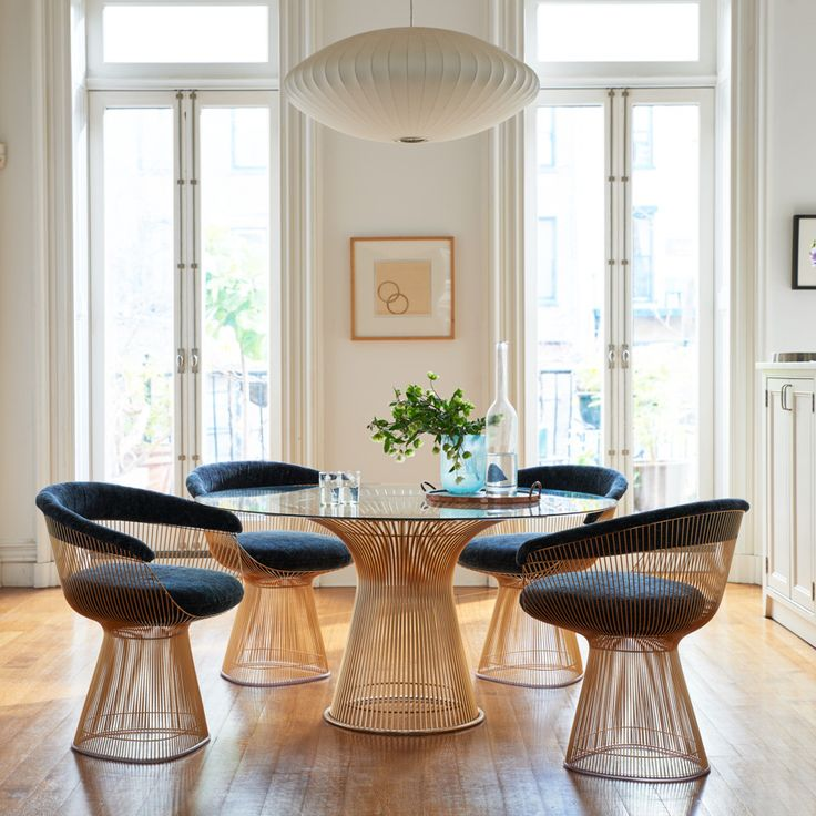 The Platner Dining Table, Already One Of The Most Elegant Mid Century Modern  Dining Tables Ever Designed, Is Now Available In 18 Karat Gold.