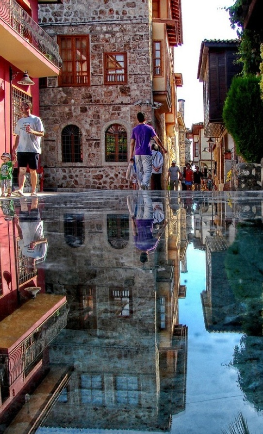 The Stone Mirror in Antalya, Turkey