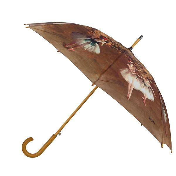 09040faed63f0 This combination of Edgar Degas paintings makes this umbrella pop with color  and beauty. This