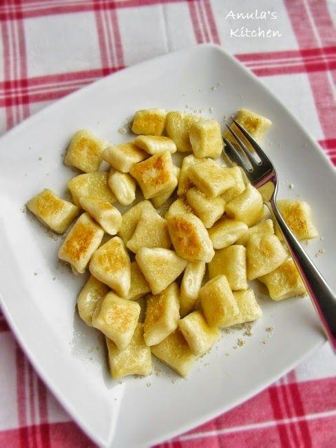 Polish gnocchi - kopytka...