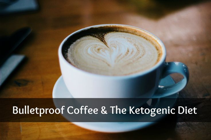 bulletproof ketogenic coffee