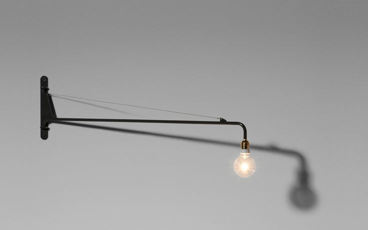 Wall light by @GStarRAW for #Vitra Prouve RAW #Furniture Collection. A reinterpretation of pieces by French modernist #JeanProuv