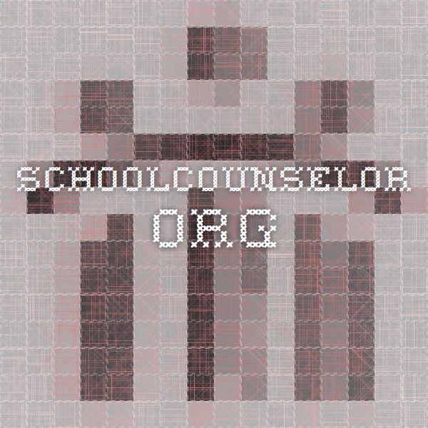 schoolcounselor.org ASCA model templates