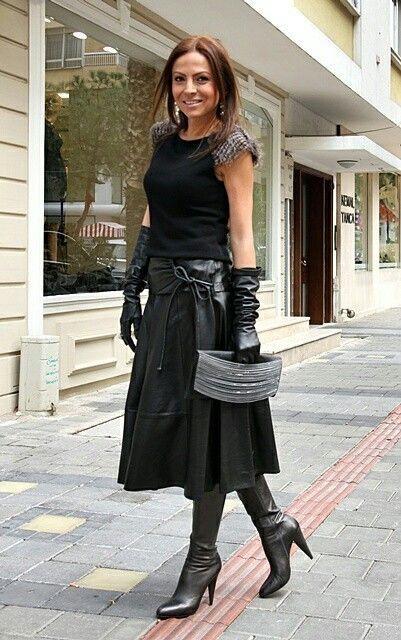 Lederlady Genel Winter Dress Outfits In 2019