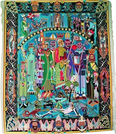 (2011-06) Bjørn Nørgaard - The queen's tapestries