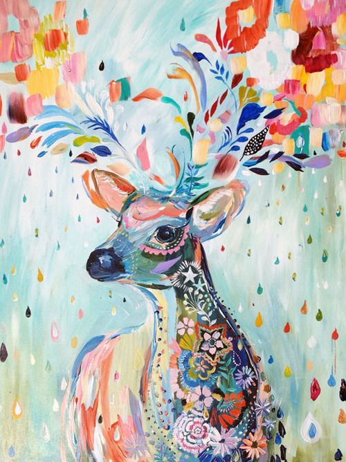 Reindeer Whimsy - Tumblr
