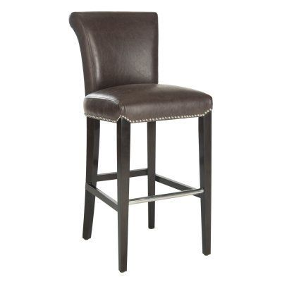 Safavieh Seth 29 in. Brown Bar Stool - MCR4510G