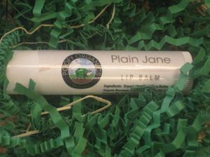 Poofy Organics - Plain Jain Lip Balm. Simple, pure ingredients without essential oils. Contains: Organic Unrefined Shea Butter, Organic Beeswax, Organic Sunflower Oil, Organic Coconut Oil, Organic Cocoa Butter. #fragrancefree
