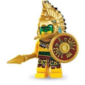 Lego Minifigure Aztec Warrior: Aztec Warriors, Lego Series, Lego Minifigure, Warriors Minifigure, Warriors Lego, Minifigure Series, Minis Figures, Lego Minis, Lego Aztec