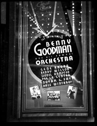 Benny Goodman Orchestra poster