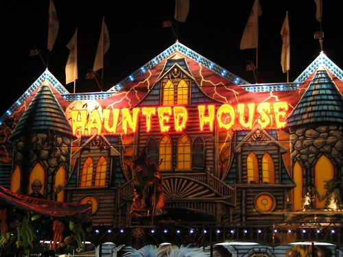 The Haunted House Carnival Ride Haunted Rides