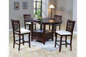 Kursi Dan Meja Makan Model Lipat | Alfah Furniture