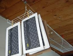Drying rack!  wonderful idea!