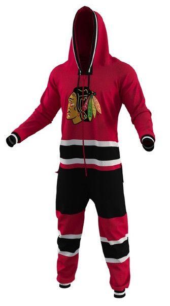 Chicago Blackhawks Team Onesie