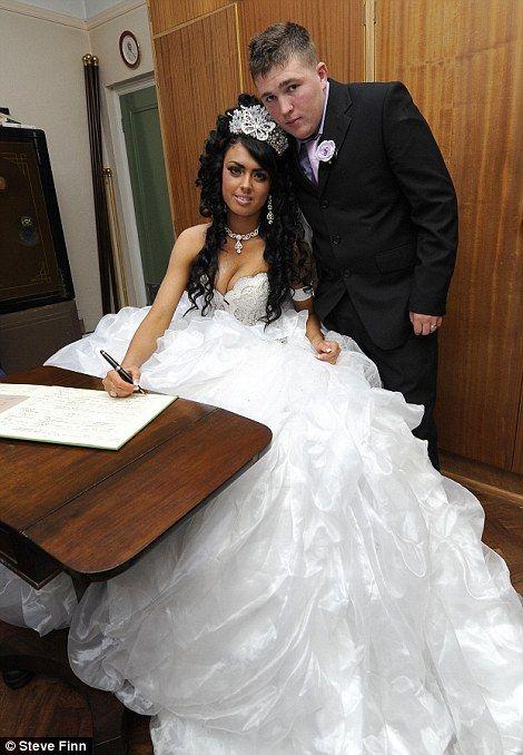 Big Fat American Gypsy Wedding | My Big Fat Gypsy Wedding: Britain's youngest gypsy bride gets married ...