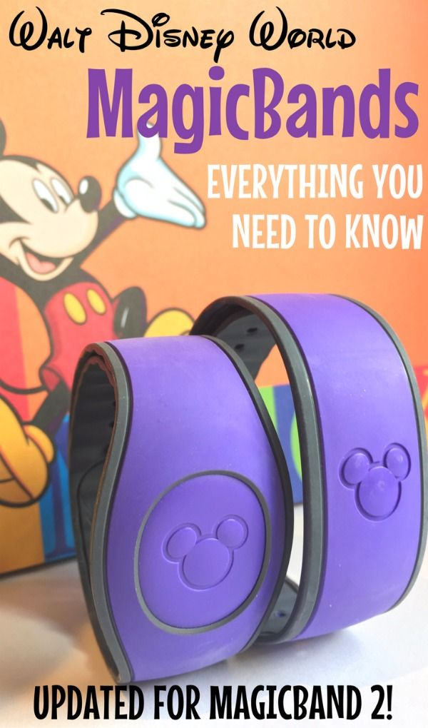 MagicBands at Walt Disney World - everything you need to know about using MagicBands on your Disney vacation. Fastpass+, charging privileges, customization, and more. Updated for MagicBand 2's release!