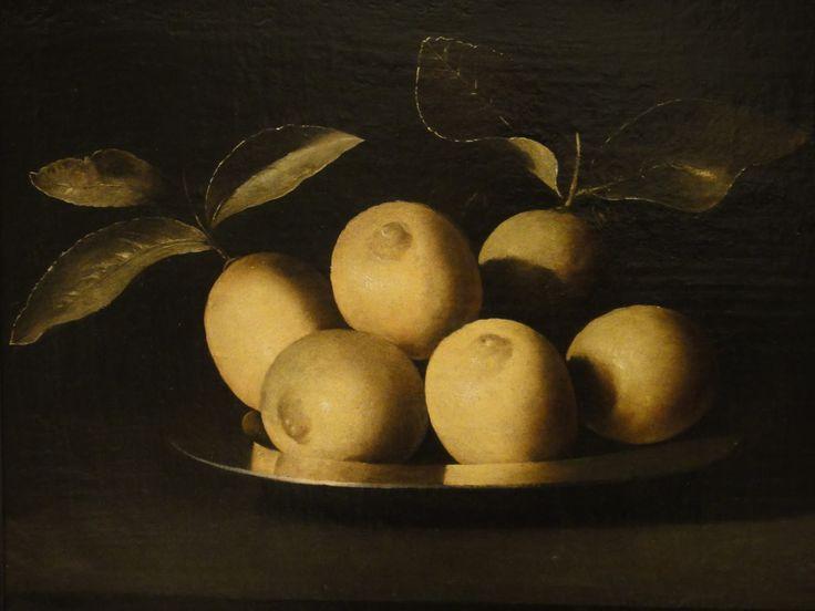 Zurbaran, Limones