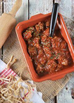 Ragout of veal with vegetables - Ragú de ternera con verduras - L´Exquisit