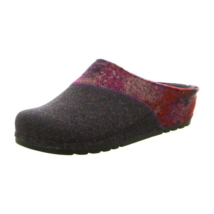 NEU: Rohde Hausschuhe Riesa-40 - 6026-58 - violett/violet/violet -