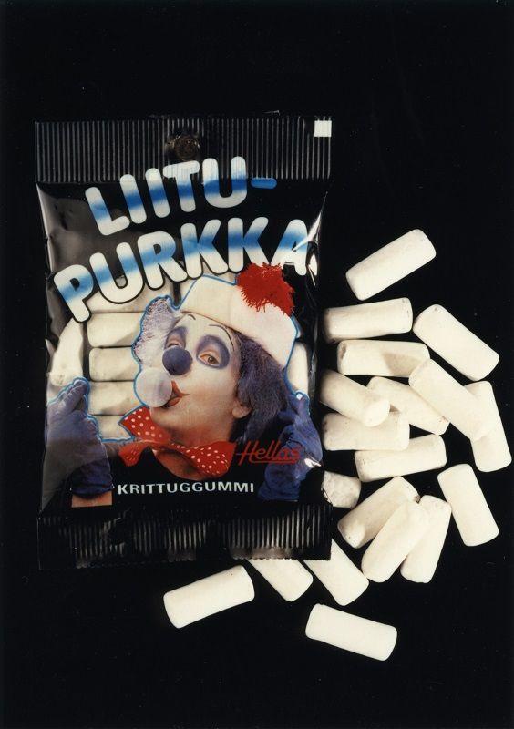 Liitulaku #purukumi #Hellas #klovnit #purkka #chewinggum #bubblegum #clown
