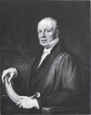 William Buckland, the famously eccentric geologist/paleontolgist