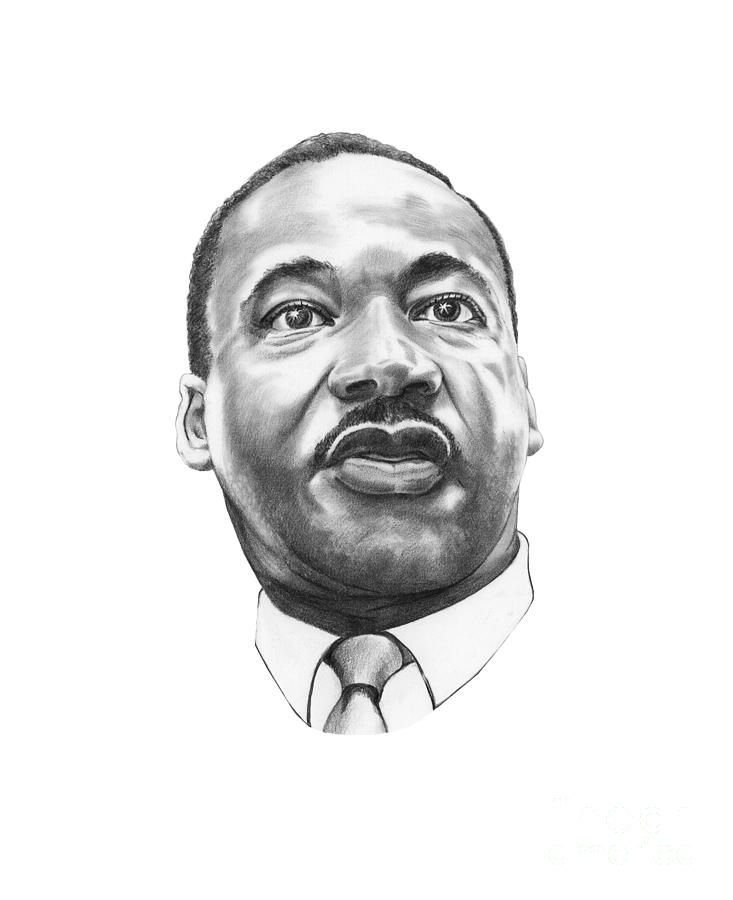 Portrait Drawing Dr Martin Luther King By Murphy Elliott Martin Luther King Martin Luther King Jr Quotes Martin Luther