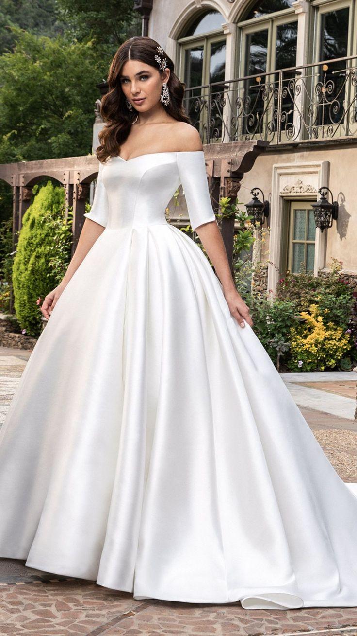 Style 20 Macy White   Wedding dress silhouette, Macys wedding ...