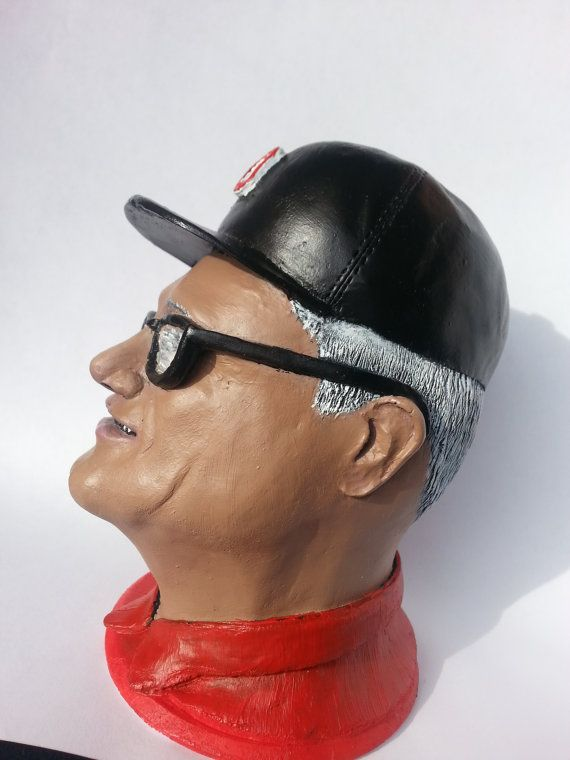 Handmade Legendary Ohio State Football Coach Woody by sculptdecor
