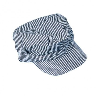 Child Size Striped Train Engineer Hat - Costume Hats superstore | Party Supply Store | Novelty Toys | Carnival Supplies | USToy.com
