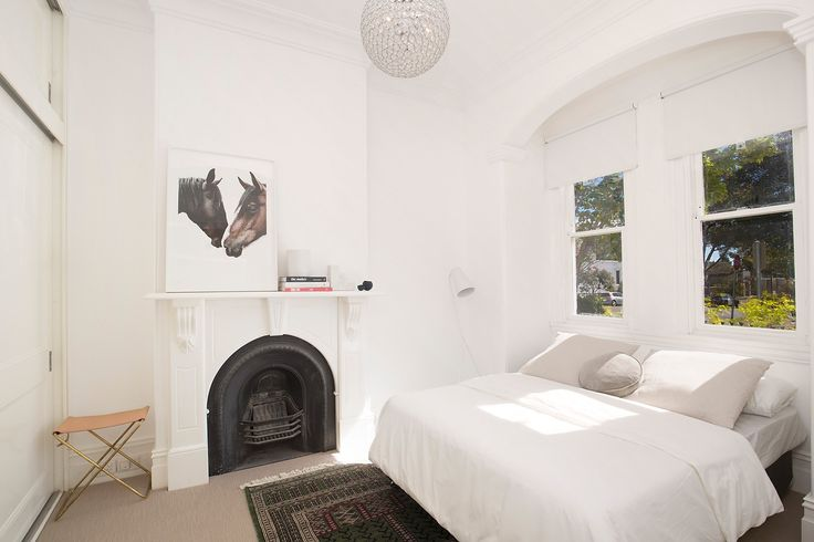 #Bedroom #Interiordesign #Interior #Design    #Forsale #Sale #Auction #Annandale #Property #Nature #white #fire #place #fireplace