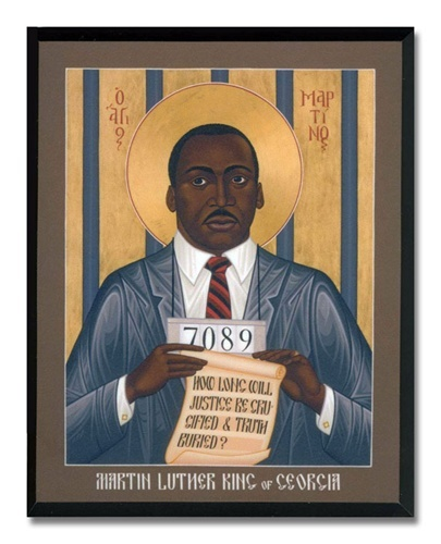 From the Grace Cathedral, San Francisco gift shop: Icon - Martin Luther King. Dr MartinsArt ...