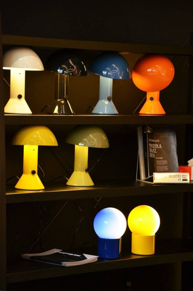 Elmetto and Pulce lamps in Paris! Photo: © Architonic 2014