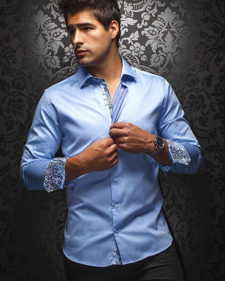 Au Noir Shirt - Nadal - Light Blue