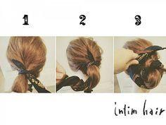 定番アップスタイルが簡単・スッキリ・可愛くなるヘアアレンジ | AUTHORs