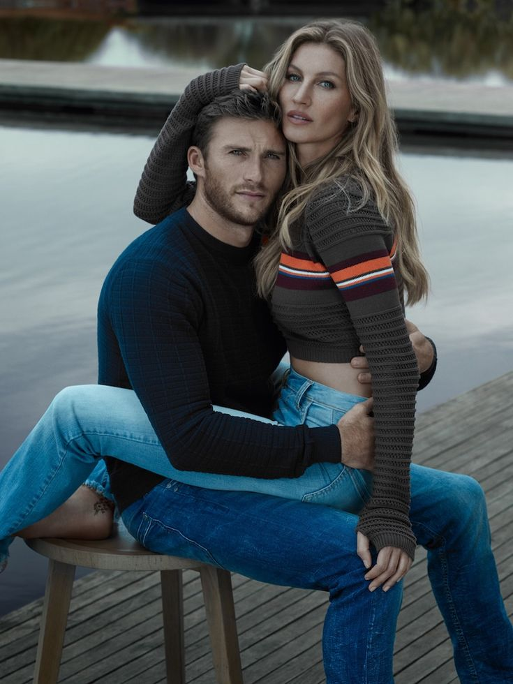 Gisele Bundchen and Scott Eastwood star in Colcci's fall-winter 2016 campaign