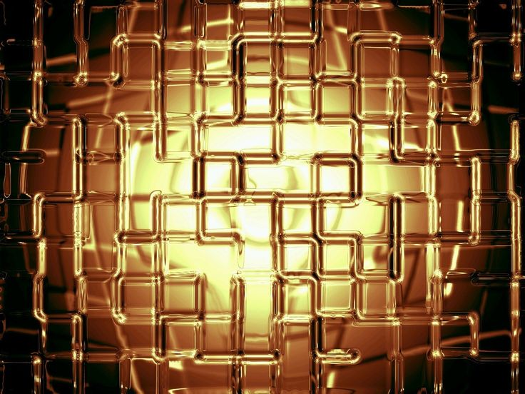 Nice abstract 3d gold 7