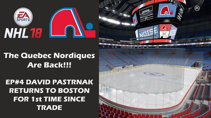 The Quebec Nordiques visit the Boston Bruins in their second preseason game, marking the first time David Pastrnak returns to Boston since the offseason trade.