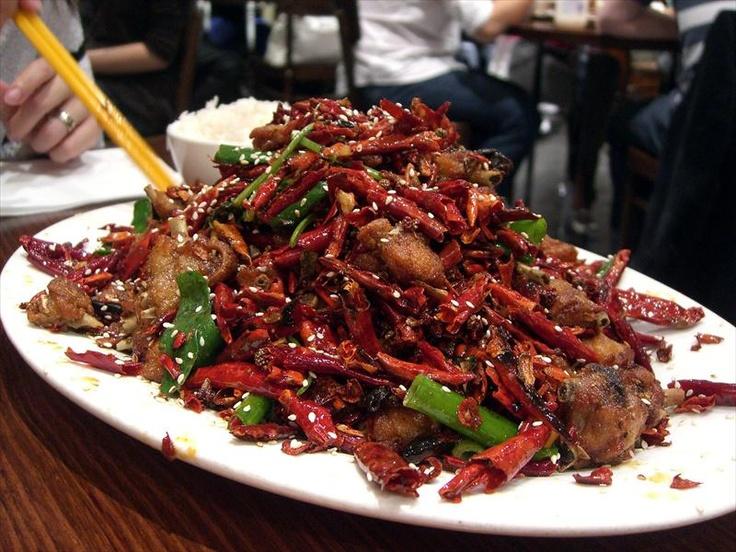 Chongqing spicy chicken
