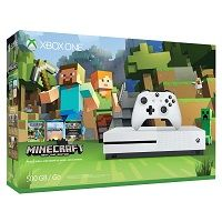 Microsoft XBox One S 500GB Minecraft Bundle White Console | KyberZoo.com  #Geeks #Shopping #Shop #Easy #BadCredit #GoodCredit #Finance #MegaSmartSuperStore #ShopTiLYouDrop #KyberZoo #PS4 #Game #Halo #Windows #PlayStationVR #PlayStation4Pro #CallofDuty #Uncharted4 #PlayStation4 #PlayStation #GearsOfWar #mineCraft #Xboxone #Xbox #MicroSoft #GameCouncil #Android #GpD #BlueTooth #GamePad