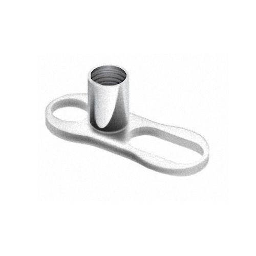 Dermal Anchor Piercing Micro Hauptplatte Titan Body Implantat