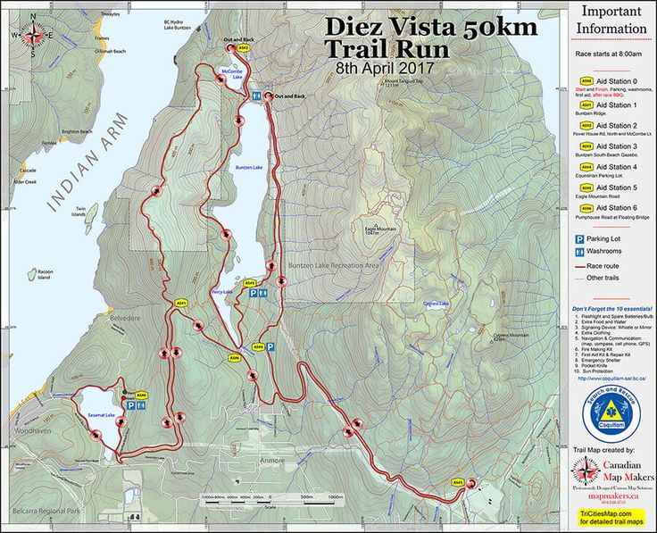 Course Maps SLO Ultra Wild Cherry Canyon Ultra Running