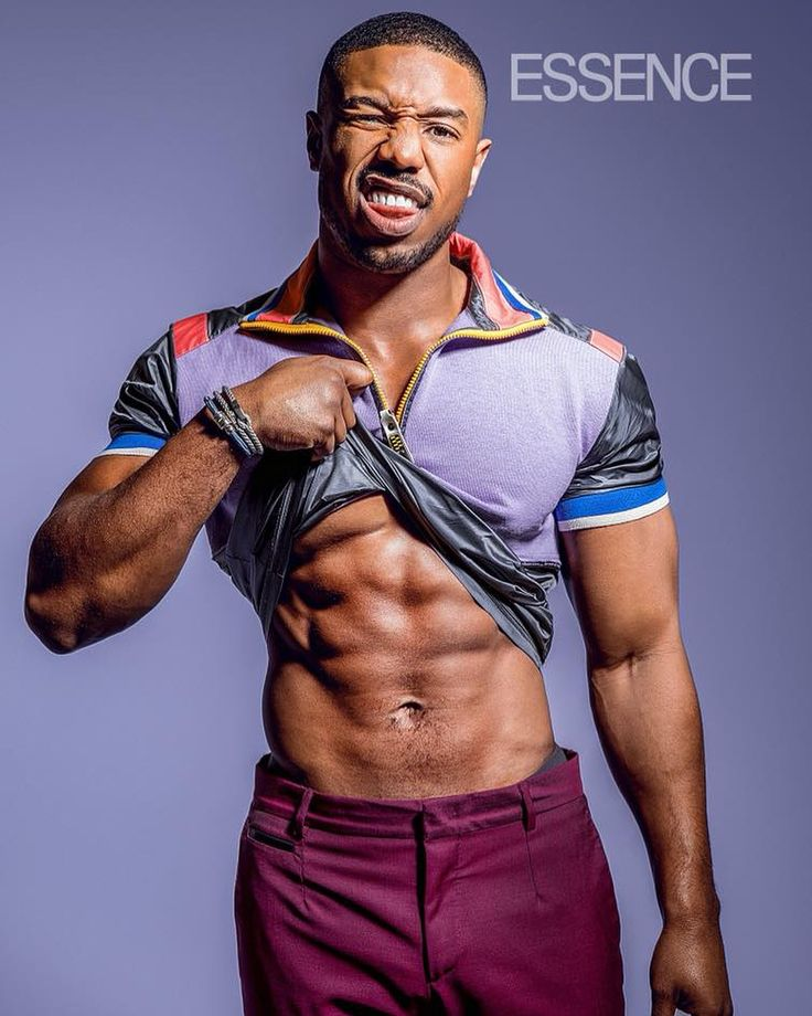 Michael B Jordan Abs He Might Need Those Worked On, And I -1079