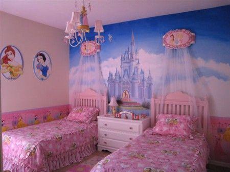 Univers Deco Chambre Fille Princesse Disney Disney Princess Bedroomdisney