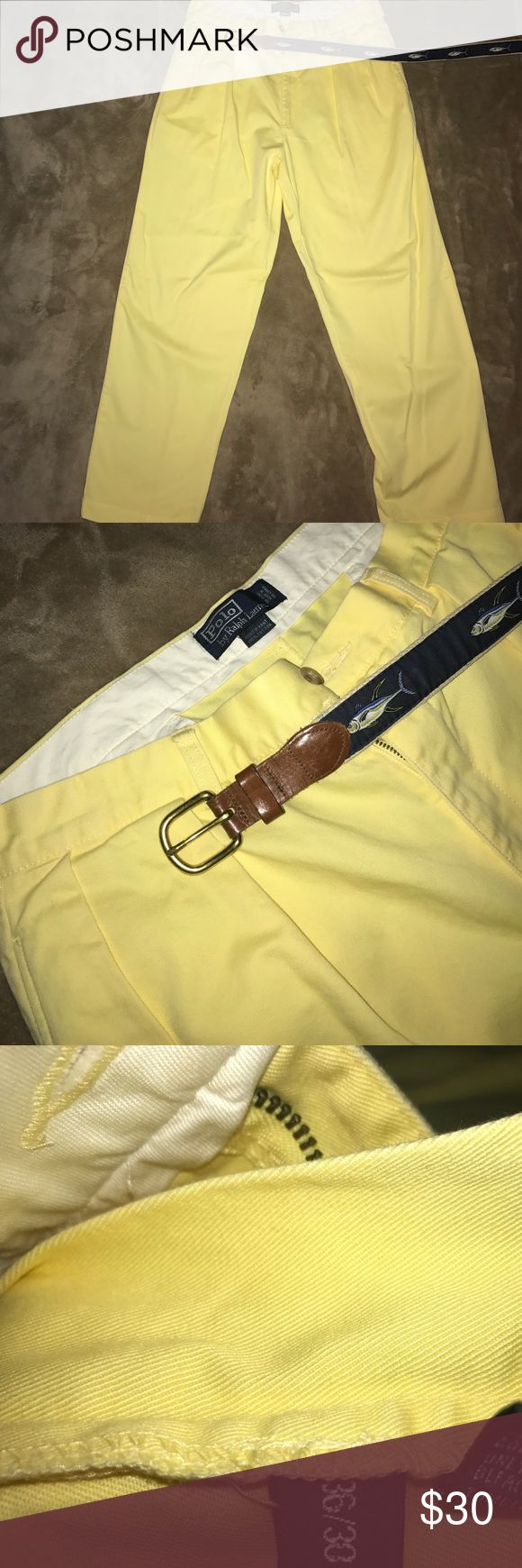 ❗️Polo Ralph Lauren Pants Polo Ralph Lauren Pants. Pale Yellow. 36/30 Polo by Ralph Lauren Pants Chinos & Khakis